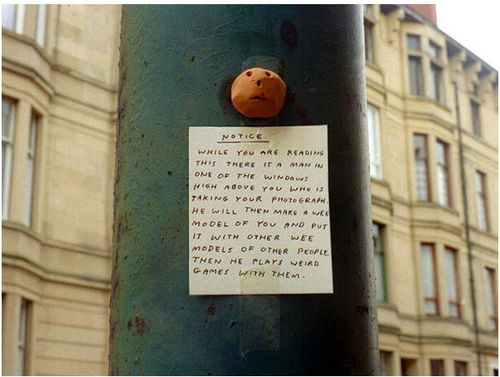 Shrigley's notice
